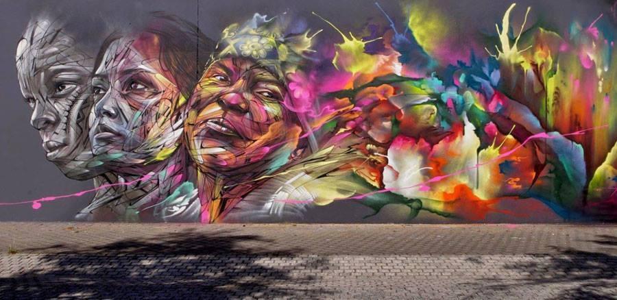 Alexandre Monteiro aka Hopare, A 'Paris' based Street Artist.............