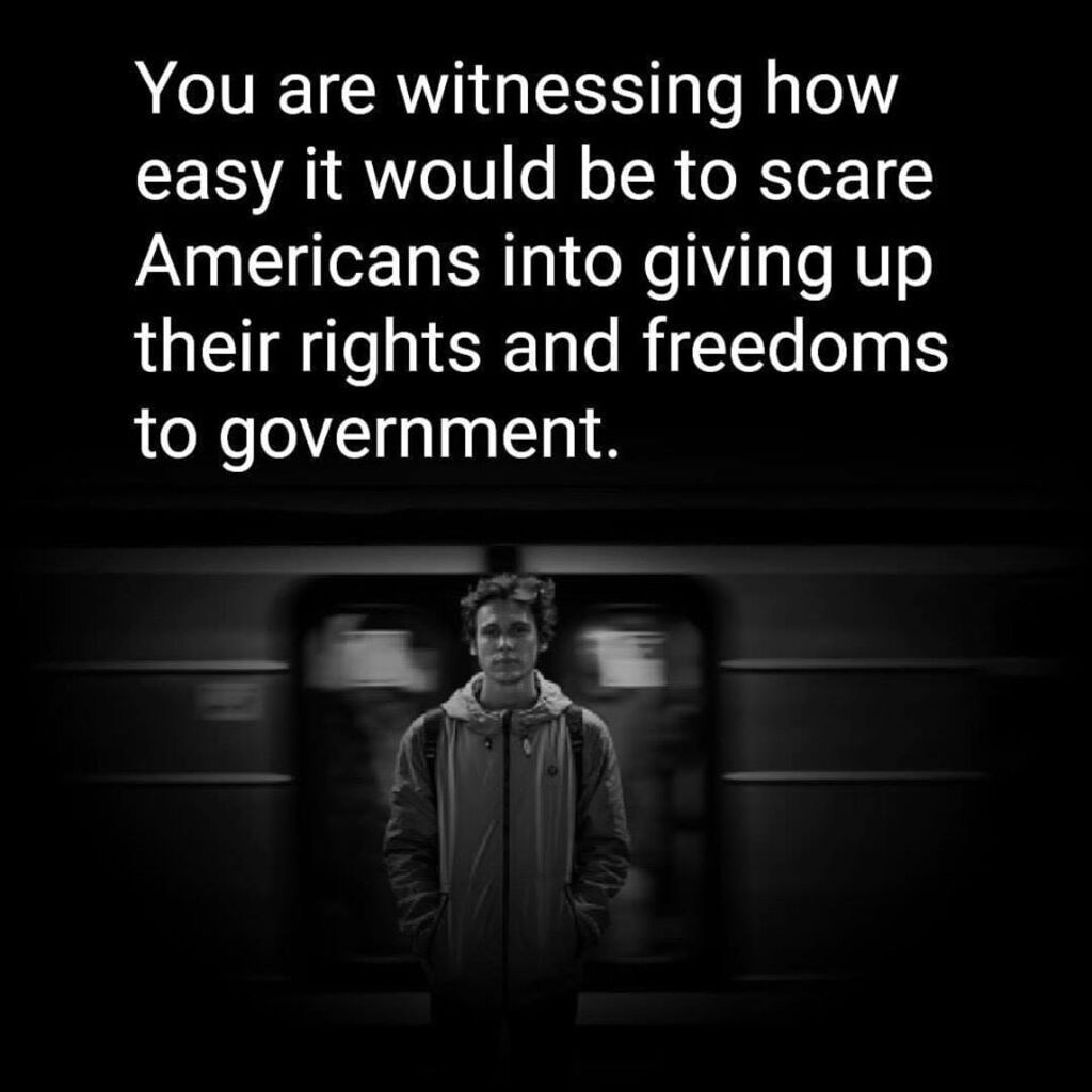 giving up rights and freedoms