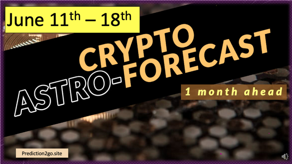 Crypto forecast 1 month ahead (update June 11th – 18th)