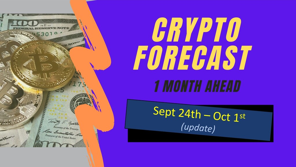 Crypto Forecast until October 24th 2020