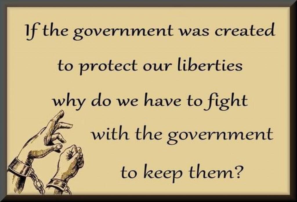 Goobermint & Liberties