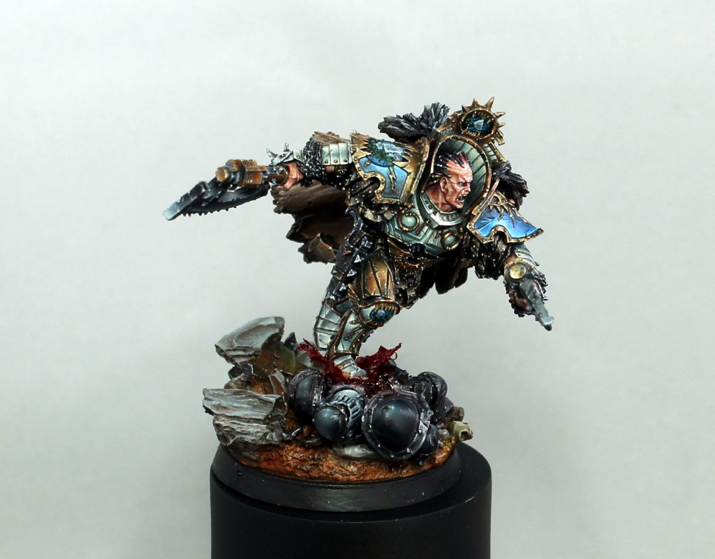 WarpColor is creating professionally painted miniatures and