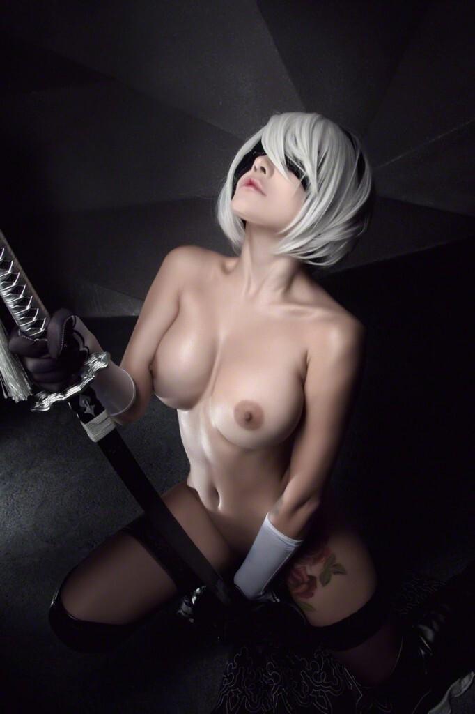 Cosplay Nier Automata Sexy Haki Latinoamerica Girl Vporn 1