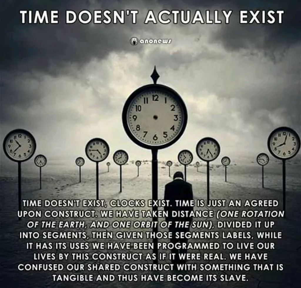 Time Doesn't Actually Exist